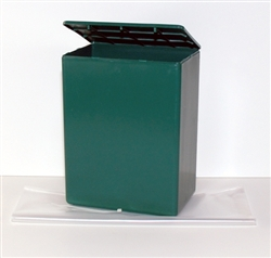 Green Temporary Container